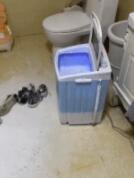 洗鞋机也是有脾气的
