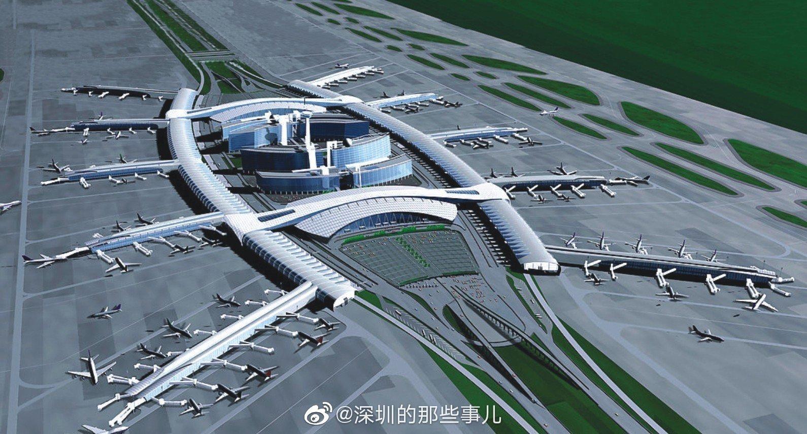 """广东最大的""""蟑螂""""竟然是白云机场?夜间更加""""张牙舞爪"""""""