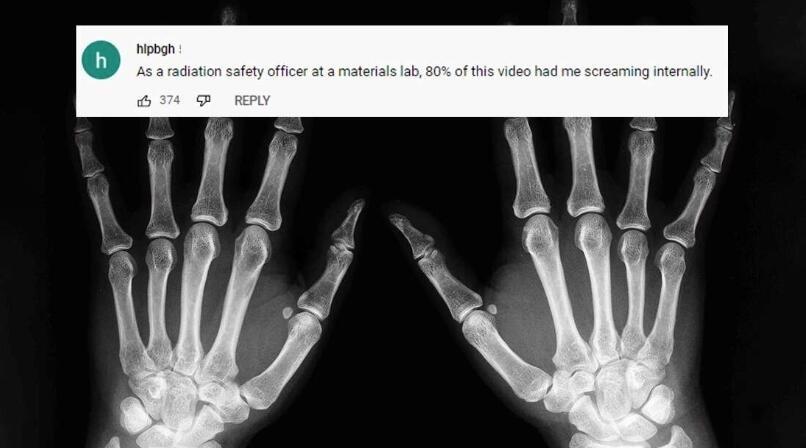 男子嫌弃医院收费太贵回家自制X光机 完美运行