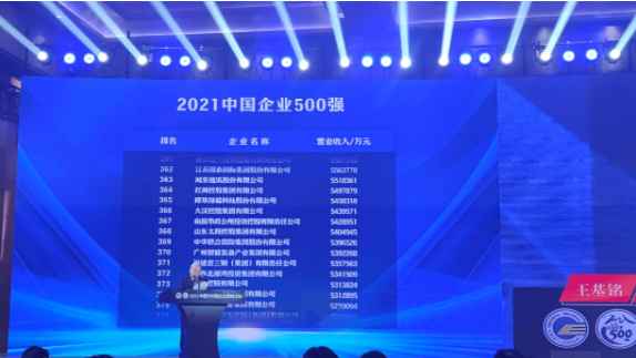 2021中国企业500强榜单出炉,目前我国的产业结构是怎样的?