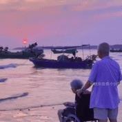 印象派夕阳红