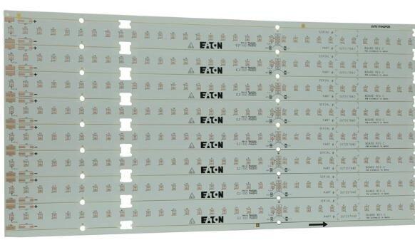 605058白油灯条板