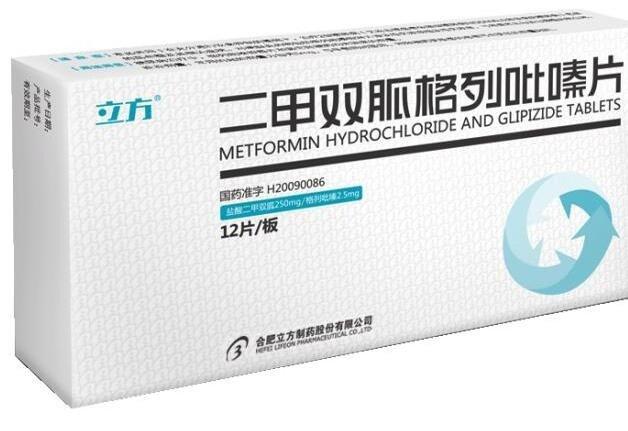 003020二甲双胍格列吡嗪片