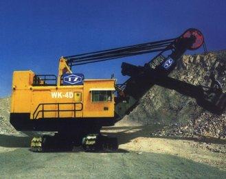 600169太原重工WK4d矿用挖掘机