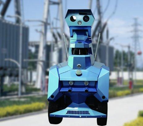億嘉和變電站智能巡檢機器人