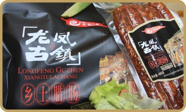 002143高金食品乡土腊肠麻辣味