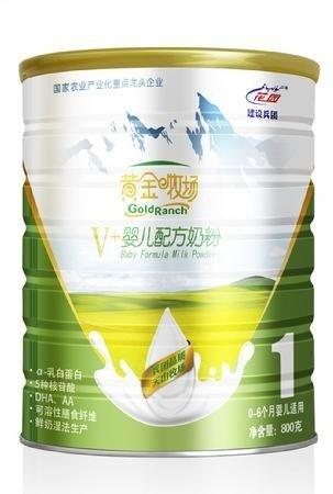 300106西部牧業花園黃金牧場V+系列奶粉