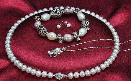 002173千足珍珠项链1